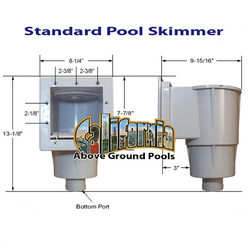 Pool Skimmer For California Above Ground Pools