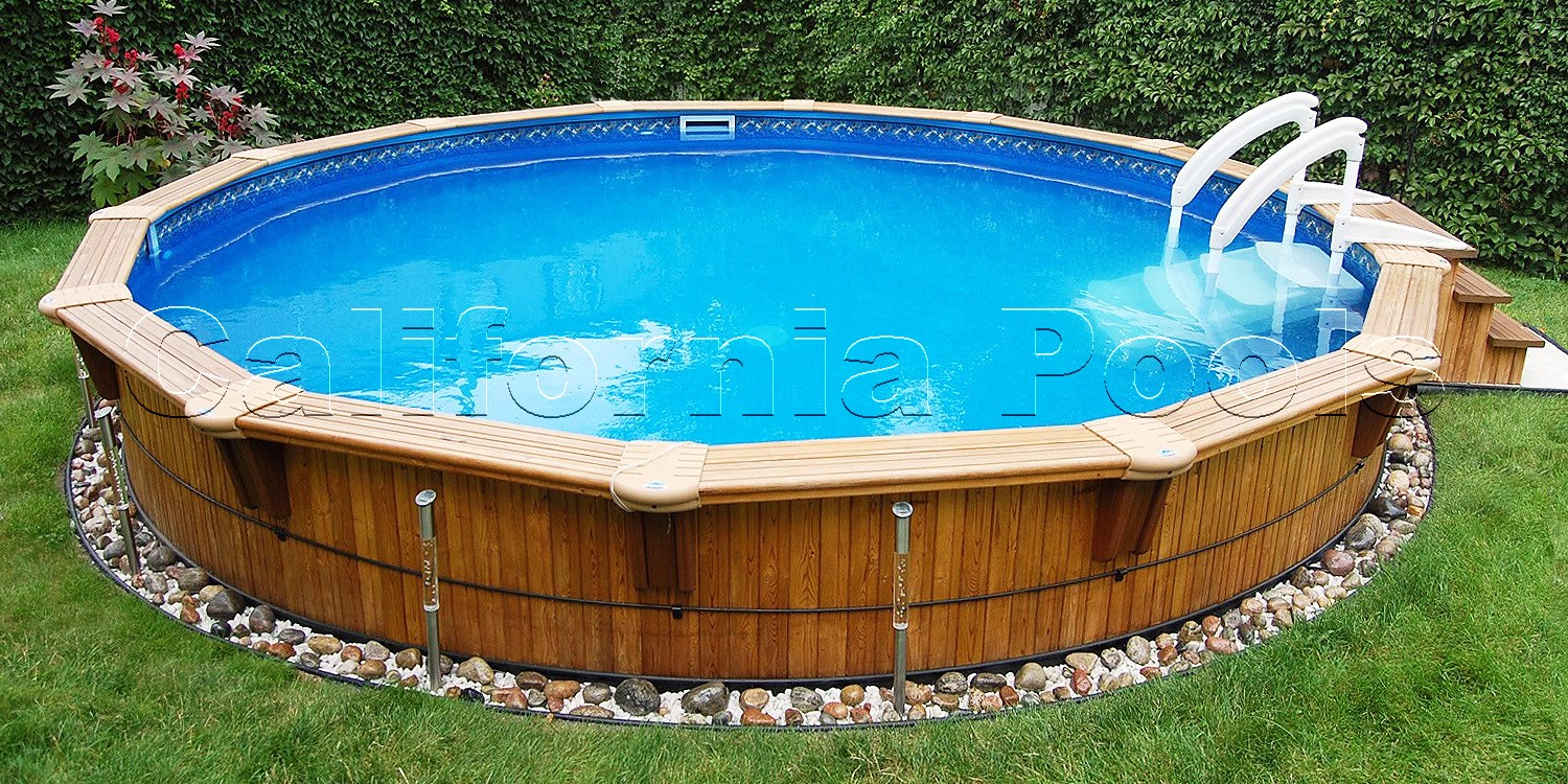 California above ground pools information for Best looking above ground pools